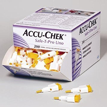 Lancetas Accu-check Safe T-Pro Plus