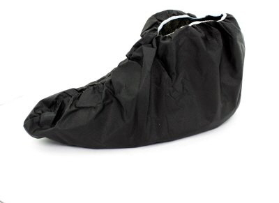 Cubrebotas impermeable Negro